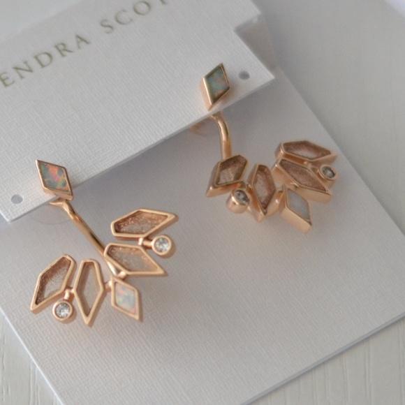53 off Kendra Scott Jewelry Kendra Scott Ear Jackets in rose